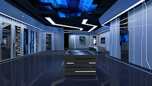 Exposition Hall 3D