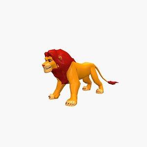 3D model Simba