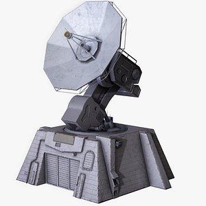 tower pbr base 3D