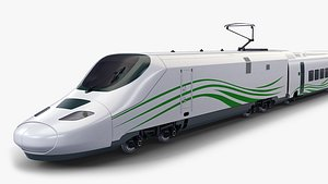 3D speed train v 1 model