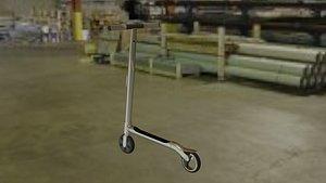 3D audi scooter model