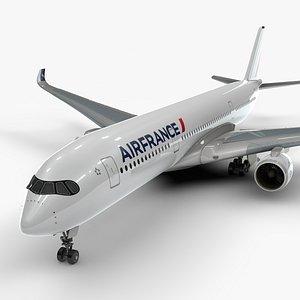 a350-900 air france l1096 3D model