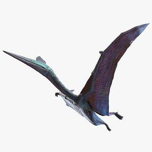 3D model Quetzalcoatlus Animated