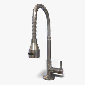 Flexible Kitchen Faucet 3D model