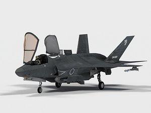 Lockheed F-35 B Japan decals 3D