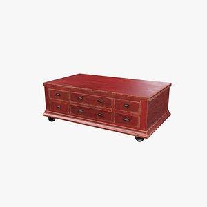 3D model drawer trunk v3