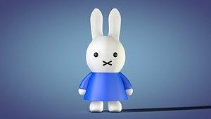 miffy rabbit bunny 3D