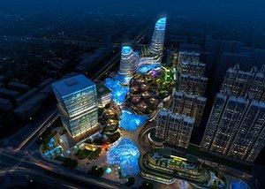 3D modern architectural