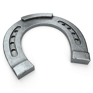 3D horseshoe steel model