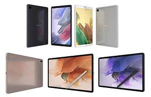 Samsung Galaxy Tab A7 Lite And S7 FE 3D