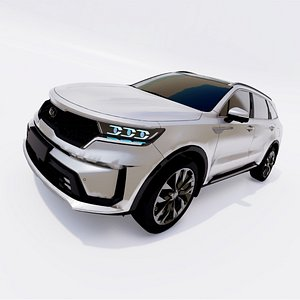 2021 Kia Sorento 3D