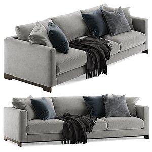 3D model Molteni e C Reversi sofa
