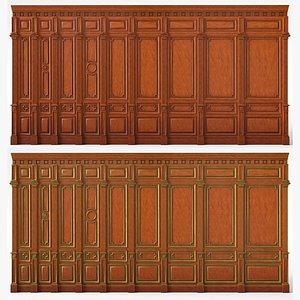 3D Wooden panels 03 09