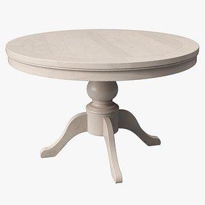 3D model Birch Round Table