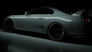 3D model supra a80 mk4 cars