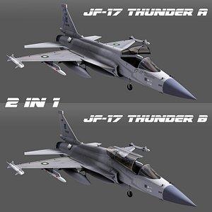 aircraft jet aviation 3D model