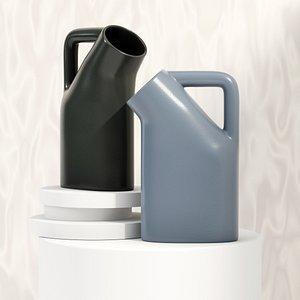 3D tub jug model