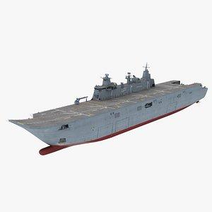 HMAS Adelaide LHD model