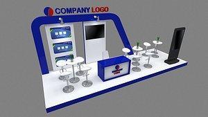 booth exhibit 3D