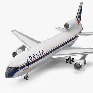 Delta Air Lines Lockheed L-1011 TriStar 3D model