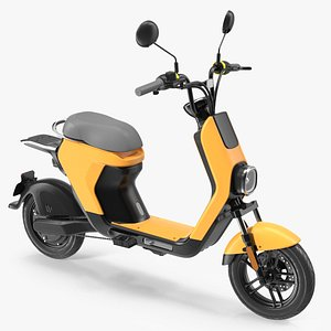 Electric Moped 3D model