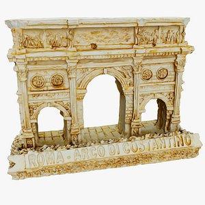 3D souvenir arco di model