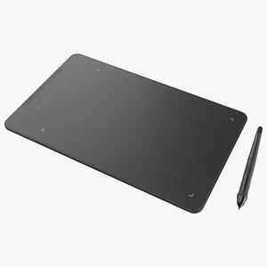 3D Tablet Lowpoly model