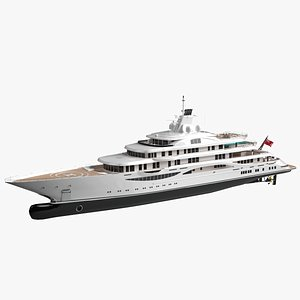 Willie Song Luxury Yacht Dynamic  Simulation 3D model
