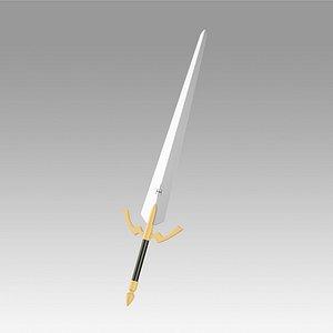 claymore sophia sword model