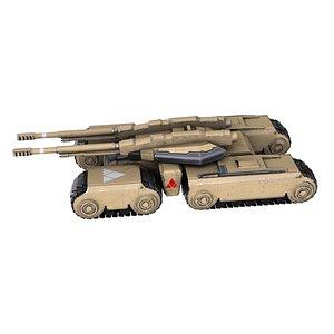 Futuristic Tank 3D