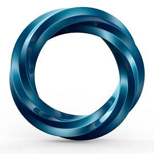 3D model Metal torus v3