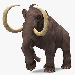 Mammoth Walking Pose 3D
