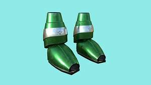 sci-fi boots 05 - model