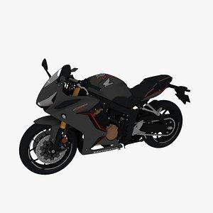 3D Honda CBR650R model