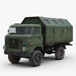 iFA W50 Truck 3D