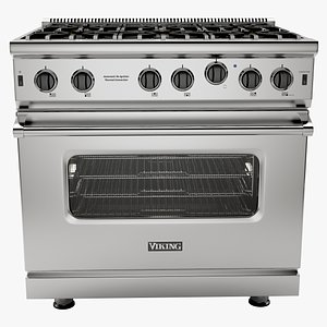 36 Open Burner Gas Range - VGIC5362 model