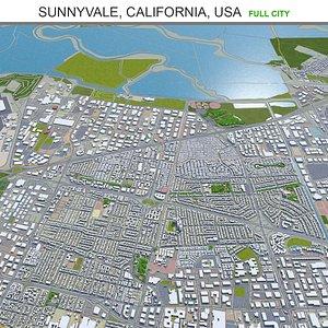 Sunnyvale California USA 3D model