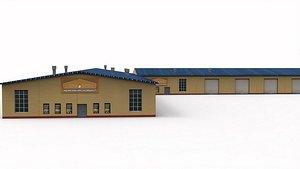 3D model Meat Factory