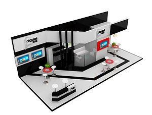 exhibition booth model