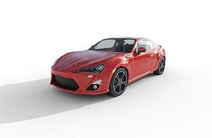 3D car - toyota gt model