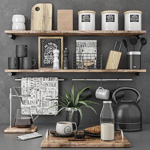 3D kitchen set 9 model