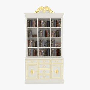 Bookcase White model