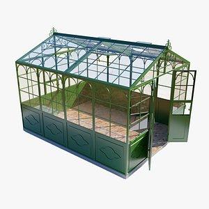 3D Italian Greenhouse PBR