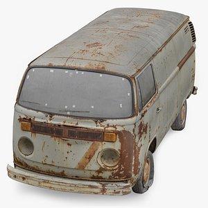 Volkswagen T2 3D Scan 3D model