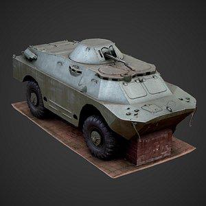 3D brdm brdm-2