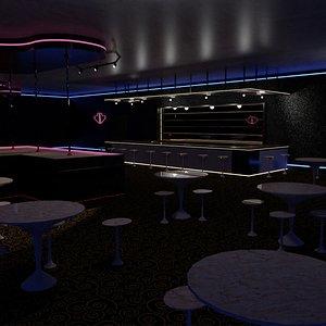 3D strip club