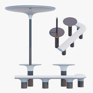 Baia elements two 3D model