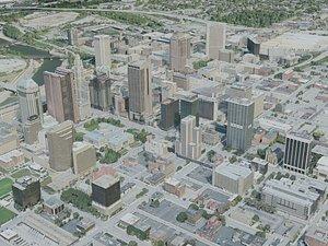 3D columbus city model