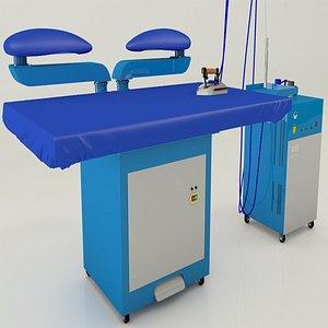 3D model steam machine ironing
