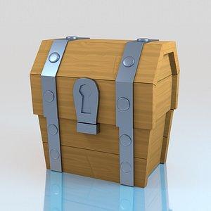 clash royale chest 3D model